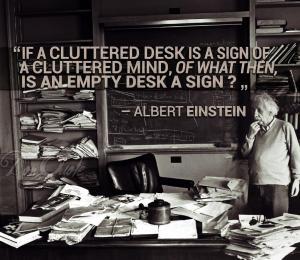 Einstein_ClutteredDesk