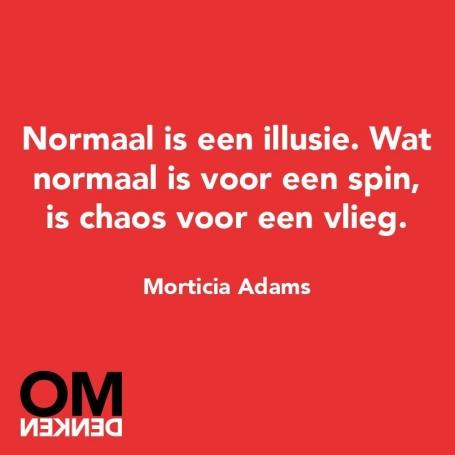 Normaal is een illusie